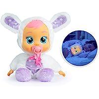 Bebés Llorones Buenas Noches Coney - Muñeca interactiva que llora de verdad con chupete y pijama de Conejito