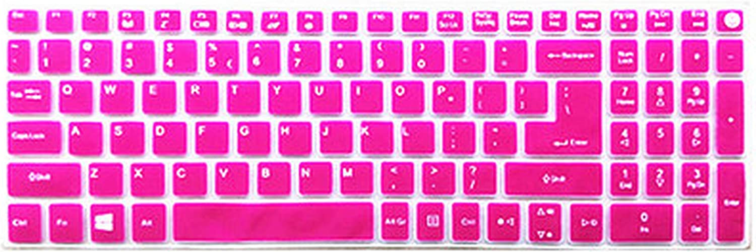 Maxsan for Acer Aspire E5 774 E5 774G F5 521 F5 571 F5 571G F5 571T F5 572 F5 572G 15 17 Inch Keyboard Cover Protector-Black