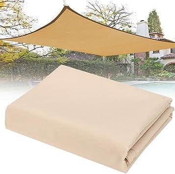 Aissimio Toldo Vela de Sombra Rectangular 2 x 1, 8M Protección ...