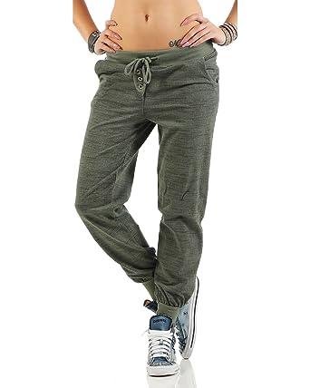 56795e2cb6 Zarmexx de Las Mujeres de Moda los Pantalones Deportivos Sudor Pantalones  Anchos Novio Pantalones Casuales de