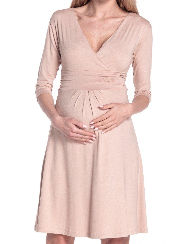 Happy Mama Donna Abito Prémaman per L allattamento Vestito Estivo Elegante  282p 563244bccbf