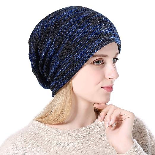 632d72ffa70 Amazon.com  Slouchy Long Oversized Beanie Hat Women Men