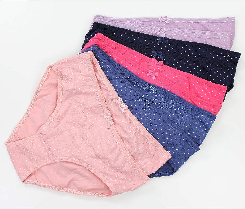 TupTam Girls Briefs with Printed Designs,Pack of 10