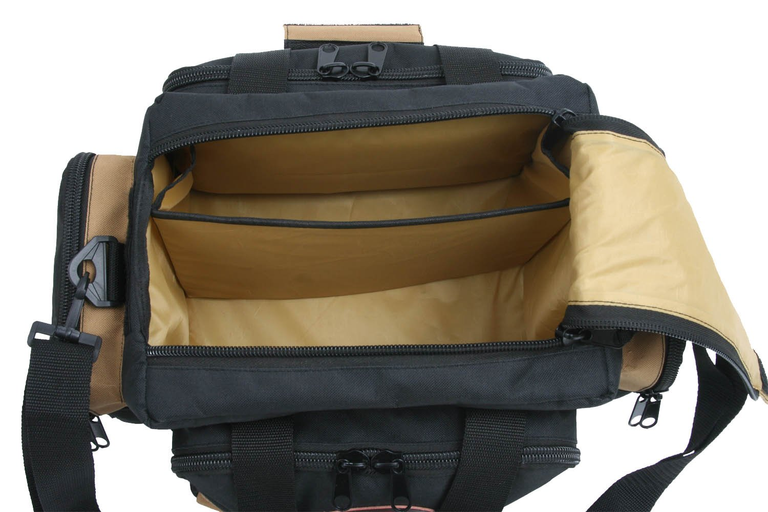 Outdoor Connection BGRNG1-28110 Deluxe Range Bag (Tan/Black) by Outdoor Connection (Image #3)