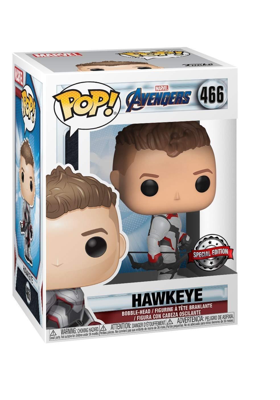 Funko Pop Avengers Endgame Hawkeye Exclusive Vinyl Figure