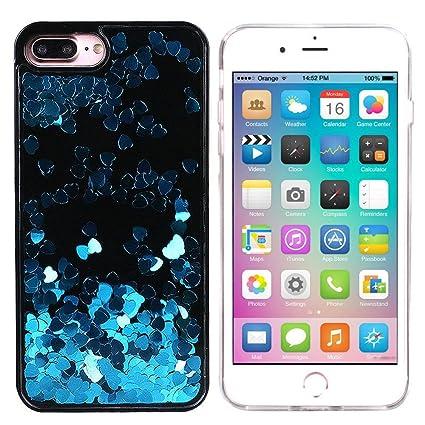 floating glitter iphone 7 plus case