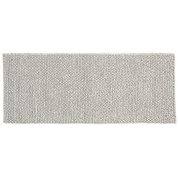 HAY Teppich Peas Soft Grey 200cm X 80cm
