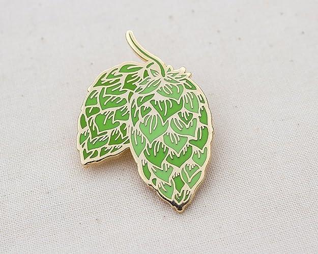 Amazon com: Hops Craft Beer Enamel Pin - Lapel Pin - Badge