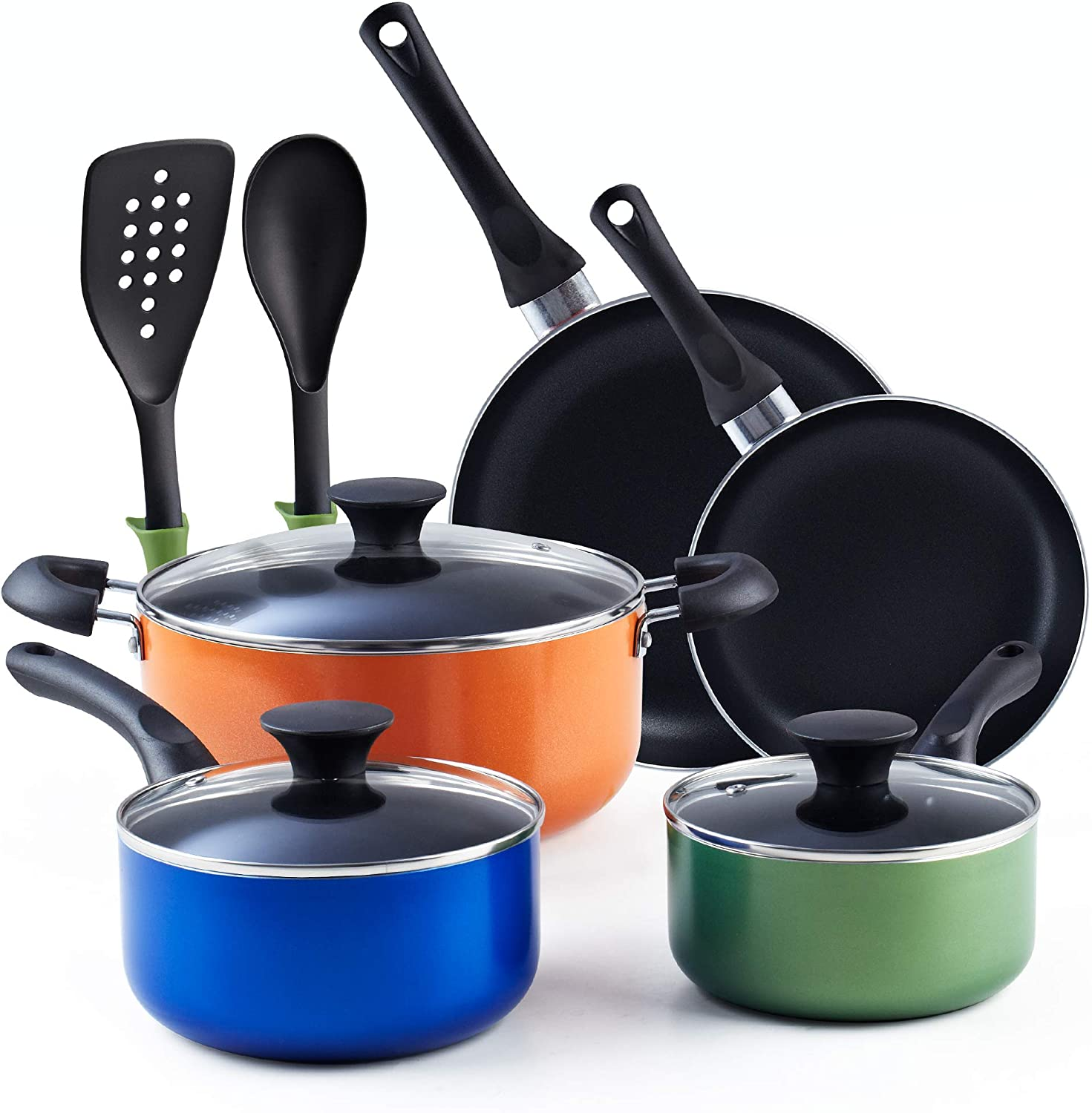 Cook N Home Multicolor Cookware Set