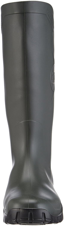 color Verde Green//Black botas de goma sin forro con ca/ña media de goma Unisex adulto Dunlop K680011 PVC KNIELAARS talla 41