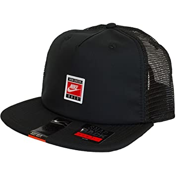 9fdffd54 Nike S CUSH PRO TRUCKER - Cap for Unisex, Size One size, Colour Black:  Amazon.co.uk: Sports & Outdoors