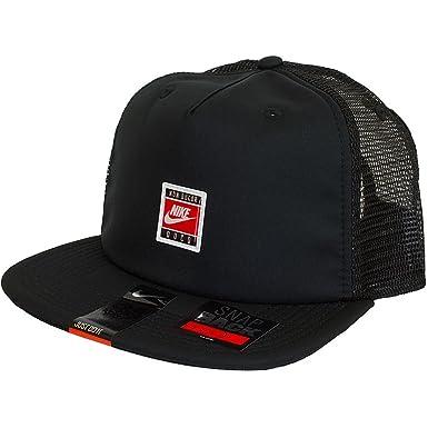Nike S+ Cush Pro Trucker Gorra, Hombre, Negro Black, Talla Única ...