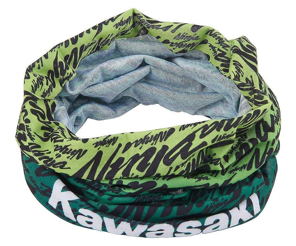 Kawasaki - Foulard - para Hombre Negro Negro y Verde Talla ...