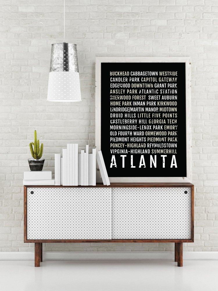Amazon Atlanta Print