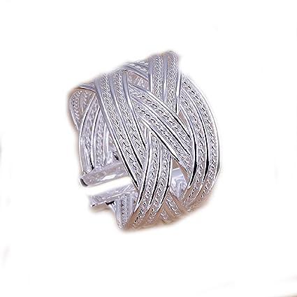 Estilo caliente de joyería Noble 925 bañado en plata extra ...