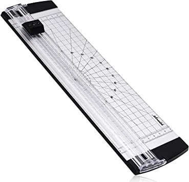 """Paper Cutter 18/"""" A4 Metal Base Guillotine Page Trimmer Blade Scrap Booking"""