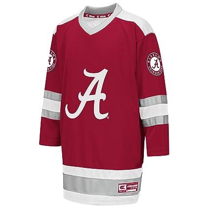 648da8ce3 Colosseum NCAA Youth Boys Athletic Machine Hockey Sweater Jersey-Alabama  Crimson Tide-Youth Medium