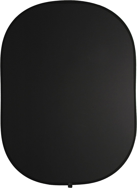 Walimex Pro - Fondo Plegable 2 en 1 (Dimensiones de 145 x 200 cm), Color Blanco y Negro