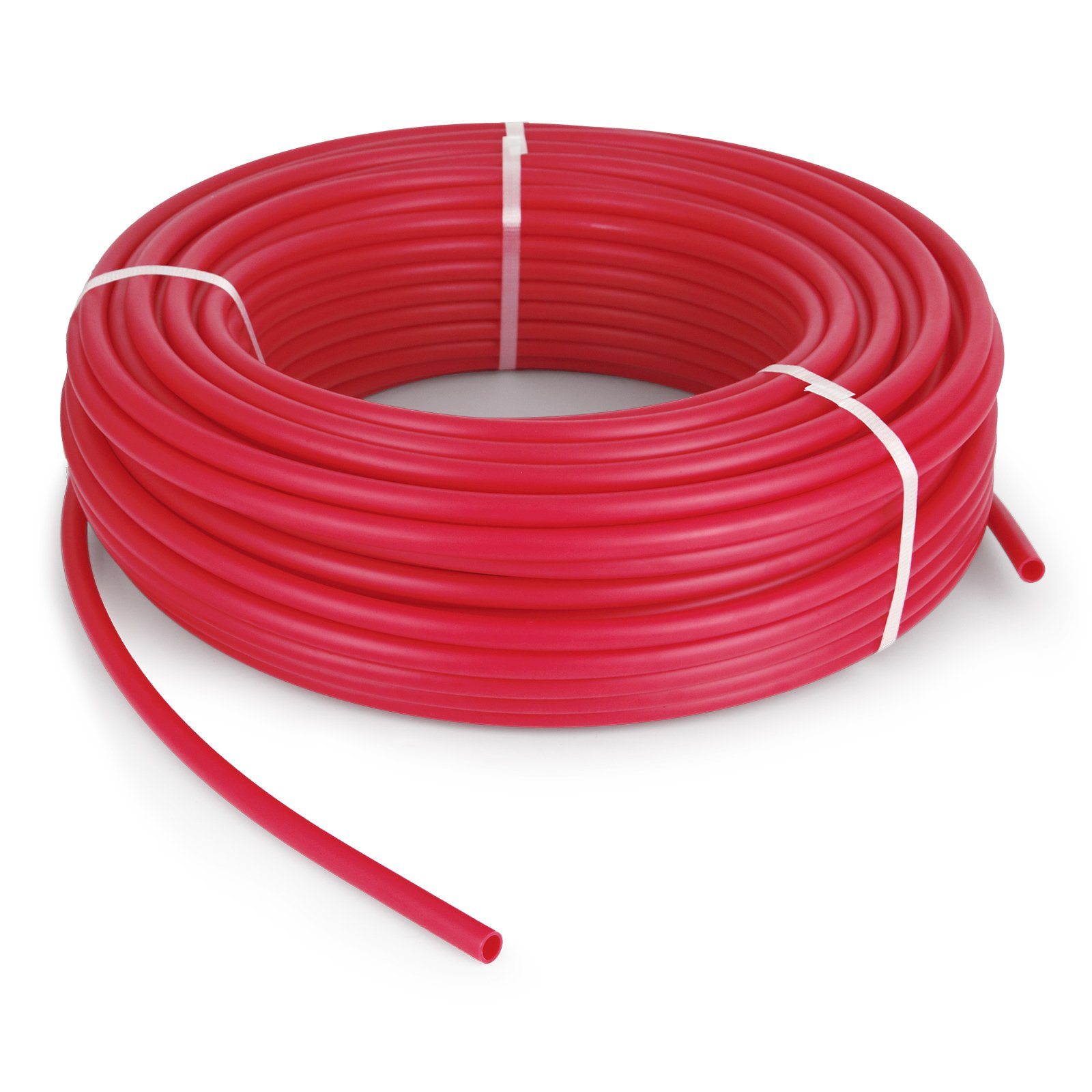 HoniHom PEX Tubing Oxygen Barrier 1/2'' 500ft EVOH Pex-B Hydronic Radiant Floor Heat Heating System Pex Pipe Pex Tube Red
