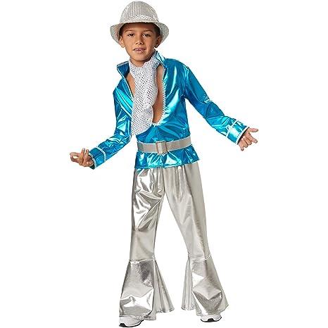 dressforfun 900497 -Disfraz de Niño Disco Boy Atuendo ...