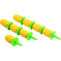 Kuhn Rikon Corn Holders - 8 Piece Set Yellow/Green