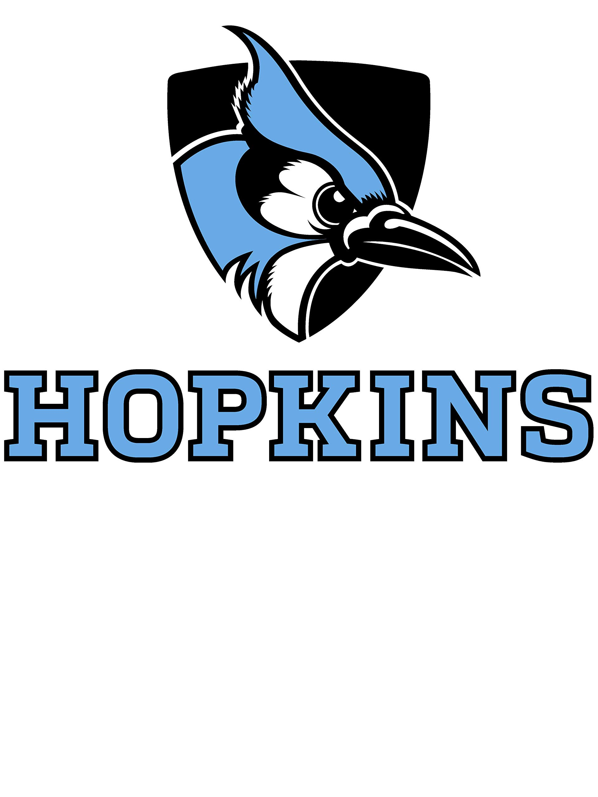 NCAA Johns Hopkins Blue Jays RYLJHU06, G.A.4410, Gry, 3XL