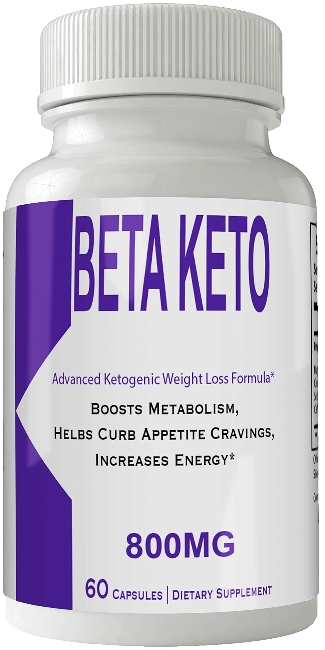 Beta Keto BHB Pills Weight Loss Supplement, Appetite Suppressant with Ultra Advanced Natural Ketogenic Capsules, 800 mg Fast Formula with BHB Salts Ketone Diet Boost Metabolism by nutra4health LLC