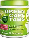 Dometic Green-Care Pastillas para inodoro de camping: limpiador eficaz para inodoros químicos Destruye los excrementos y los olores desagradables. La alternativa respetuosa con el Medio Ambiente al líquido sanitario.
