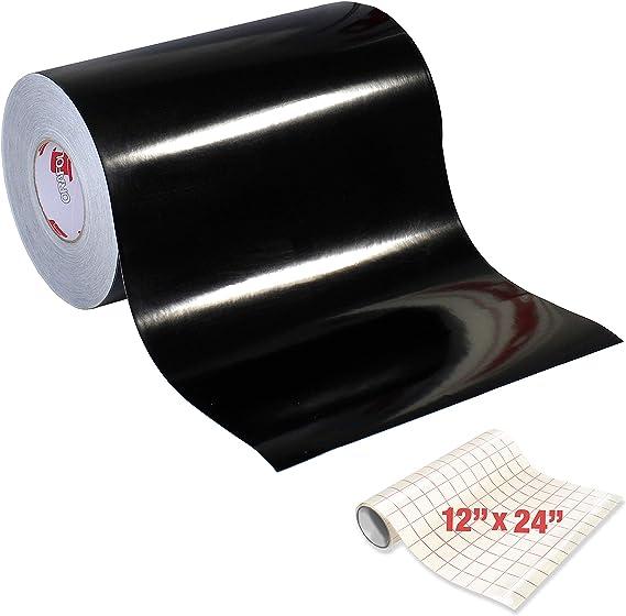 ORACAL 651 Rollo de vinilo autoadhesivo negro brillante para manualidades: Amazon.es: Juguetes y juegos