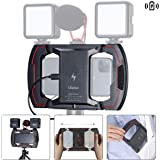 ULANZI U Rig Video Rig for iPhone Wireless Charging, Phone Stabilizer Rig with Triple Cold Shoe Mount, Phone Tripod…