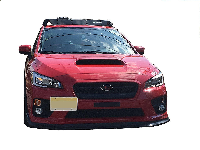 Bumper Tow Hook License Plate Mount Bracket For SUBARU WRX STI 2015 16 17 2018 Trunknets Inc
