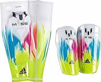 best loved 8e610 7635f Espinilleras Adidas F50 Pro Lite -Messi-  Amazon.es  Deportes y aire libre