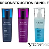 Tec Italy Reconstruction Package: Due Faccetta Massimo 10.1 Oz + Massimo Shampoo 10.1 Oz+ Balsami Total 10.1 Oz.