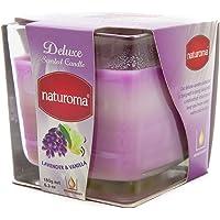 Naturoma Air Freshener Scented Candles, Lavender & Vanilla 180 grams