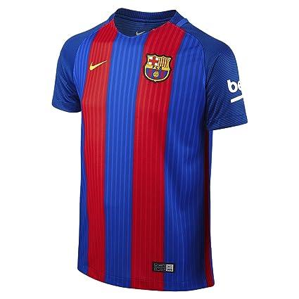 52b8cda522d Nike FCB YTH SS Hm Stadium JSY Camiseta Línea F.C. Barcelona