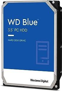 Western Digital 2TB WD Blue PC Hard Drive - 7200 RPM Class, SATA 6 Gb/s, 256 MB Cache, 3.5