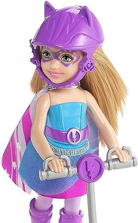 Barbie - Muñeca Chelsea y su Moto, Color Rosa (Mattel CDY70)