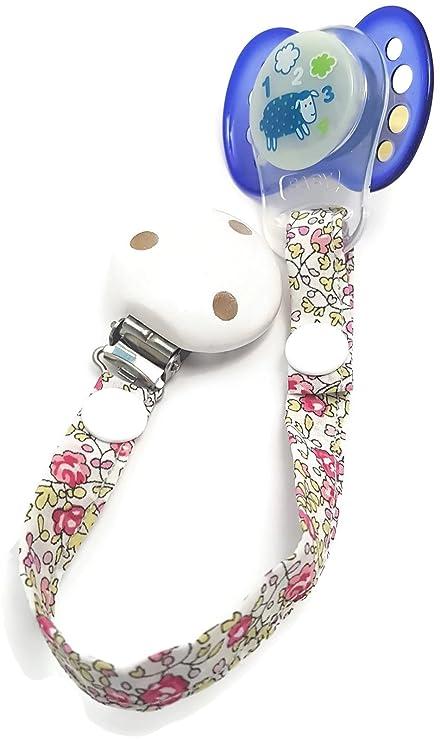dea-concept - Cadena chupete bebé - liberty Eloise - clip ...