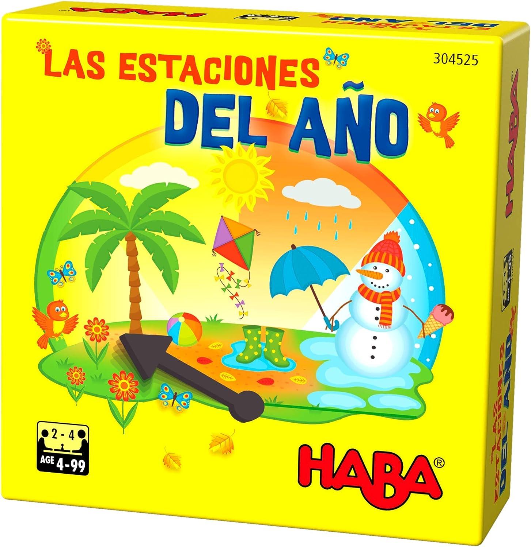 HABA- Juego de Mesa, Las Estaciones del Año, Multicolor (Habermass H304525): Amazon.es: Juguetes y juegos