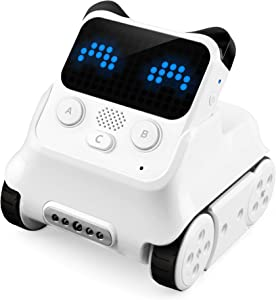 Makeblock Codey Rocky Programmable Robot, Fun Toys Gift to Learn AI, Python, Remote Control, Available for Windows, Mac OS, Chromebook, iOS, and Android, STEM Education for Kids Ages 6+.