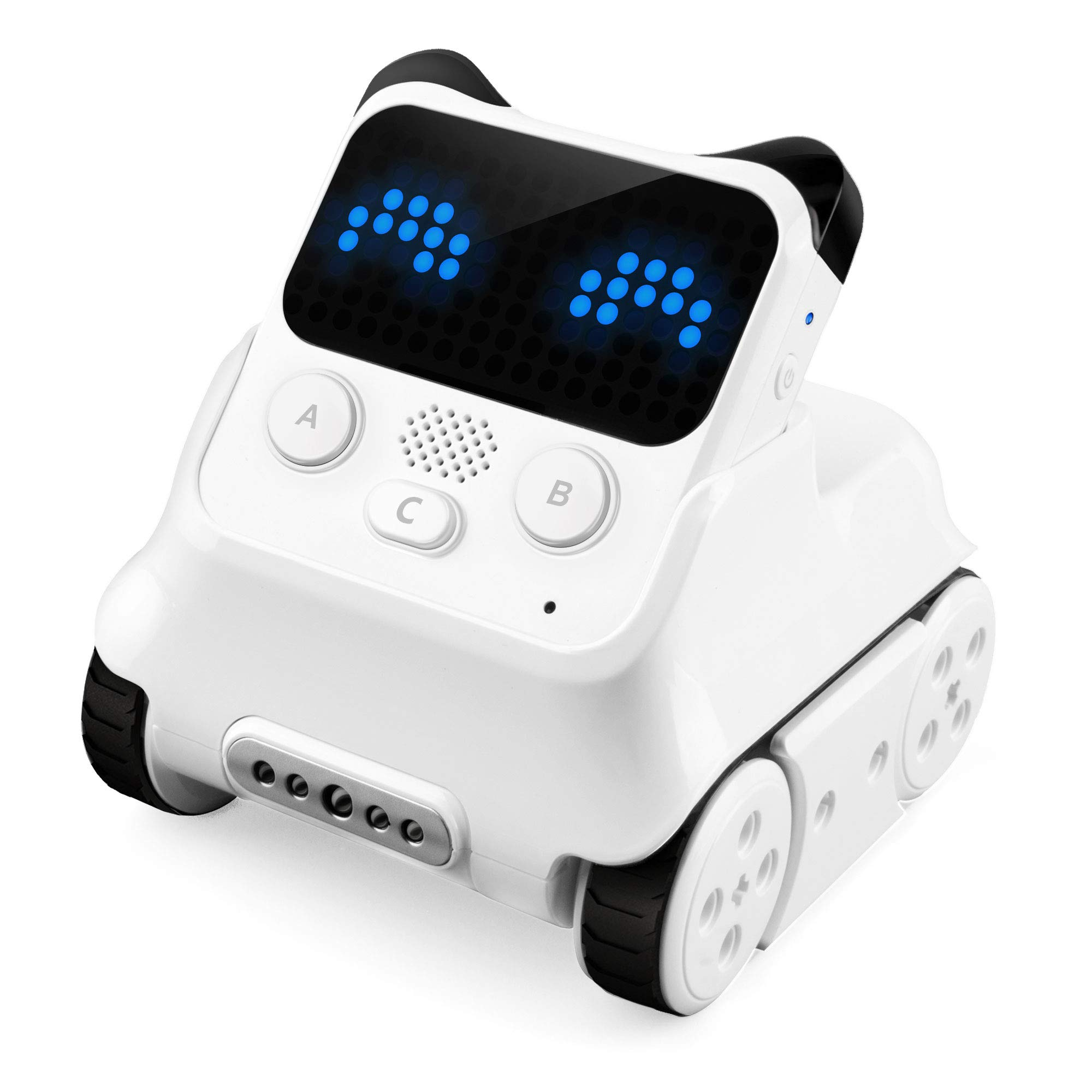 Makeblock Codey Rocky Programmable Robot, Fun Toys Gift to Learn AI, Python, Remote Control, Available for Windows, Mac OS, Chromebook, iOS, and Android, STEM Education for Kids Ages 6+. by Makeblock