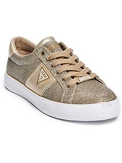 GUESS Factory Women s Gilda Glitter Mesh Low-Top Sneakers 3212ab2392