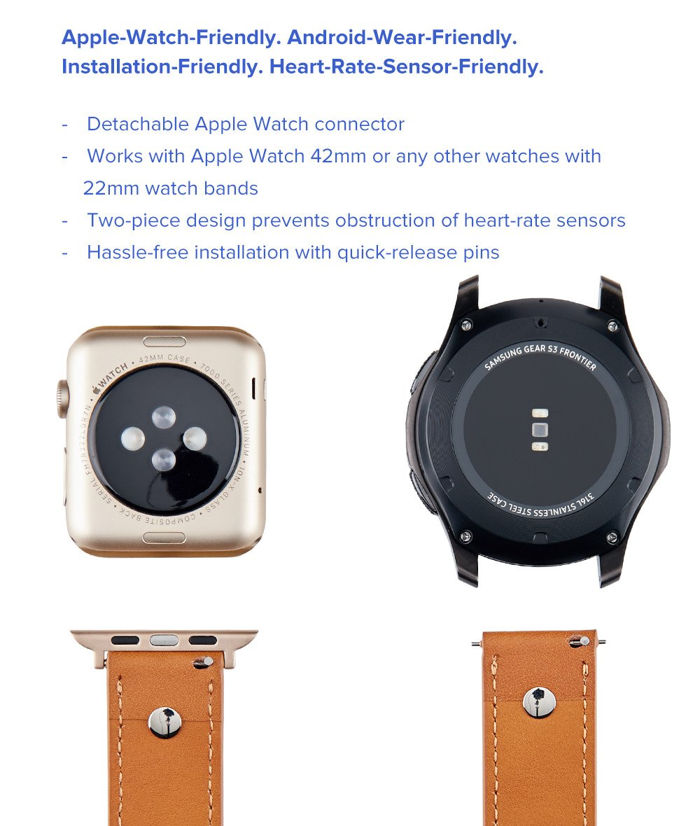 Correas para smartwatch, 22 mm: Amazon.es: Electrónica