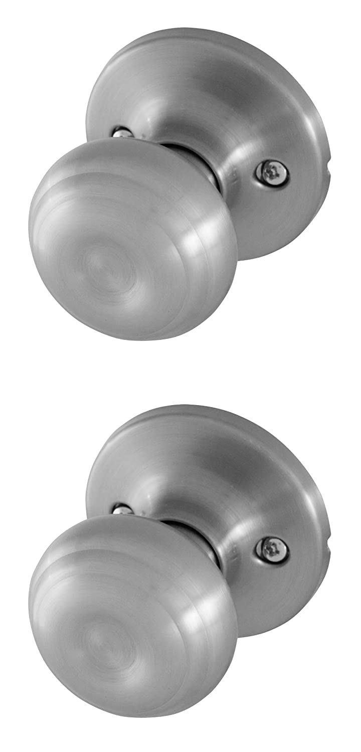 Honeywell 8101303 Classic Passage Door Knob, Satin Nickel