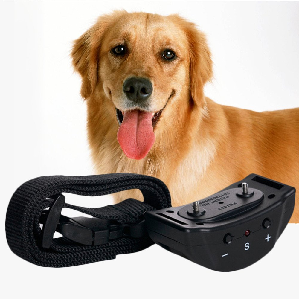 Dog Training Collar,Dog Anti Bark Control Collar Auto Vibration Shock Training Stop Barking Bark Deterrents