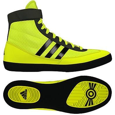 8311ce33a67 ... discount adidas combat speed 4 wrestling shoes soilar yellow black 4.5  6e6fe 839e8