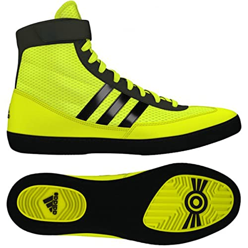 Adidas Combat Speed 4 Wrestling Shoes Solar Yellow/black Size 7