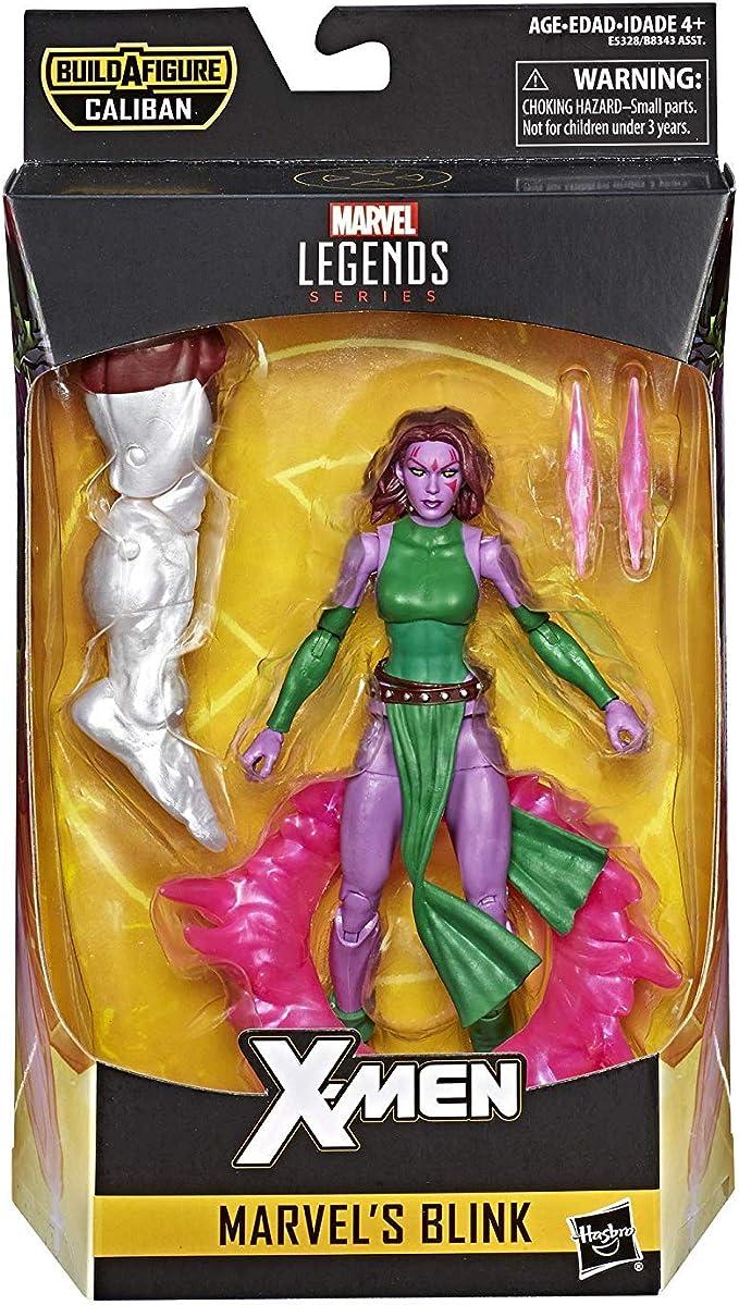 """Marvel Legends X-MEN BAF Build A Figure 8/"""" CALIBAN Complete"""