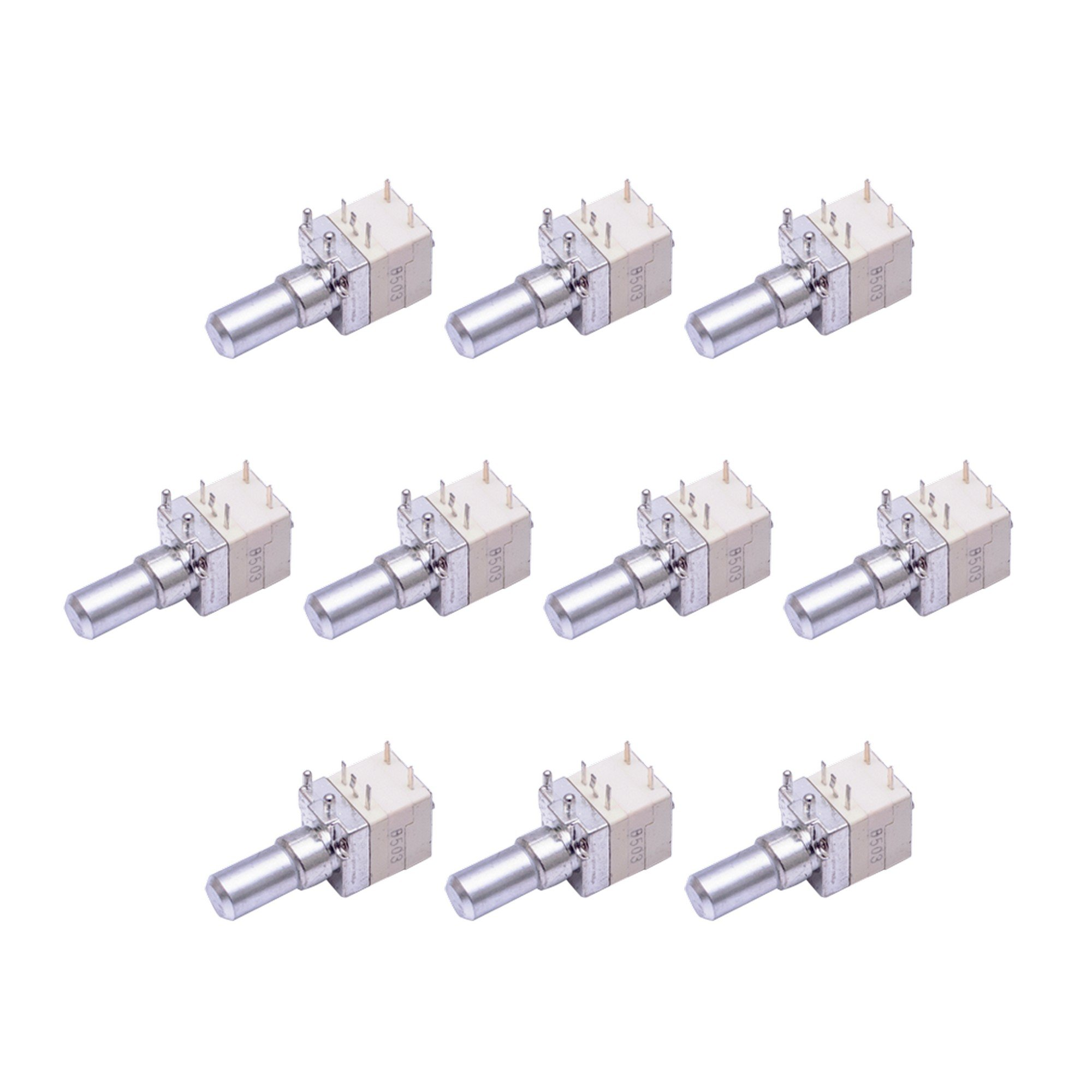 10 Pack Maxtop ACC-VSCP200 Replacement Volume Control (16 CH) for Motorola CP200