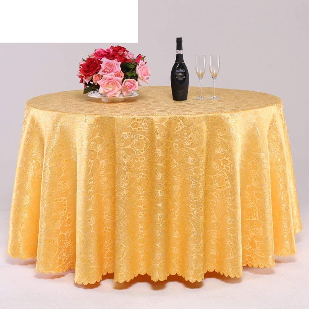 DHG Tovaglia moderna minimalista di lusso Tovaglia in cotone e tessuti in lino Tovaglia coloreata in tinta unita,F, 160x240cm (63x94inch)